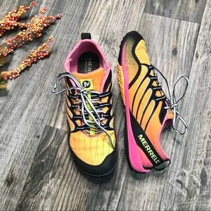 Merrell Lithe Glove Cosmo Pink Running Shoes -8.5
